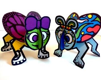 Cutie Bug - Cootie Game - Printable Toy