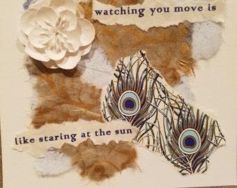 Poetry Art Card #10