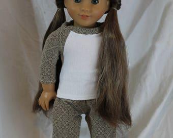 American Girl Doll pajama set