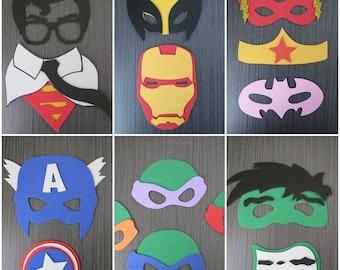Super Heroes Props