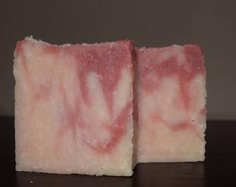 Handmade Sweet Pea Natural  Soap   Free Shipping   Cold Process Artisan Soap