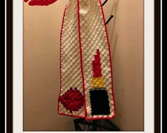 Kiss Me Scarf, C2C Graph, Crochet Pattern