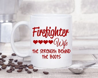 Firefighter Decal, Firefighter Wife Decal, Car Decal, Vinyl Decal