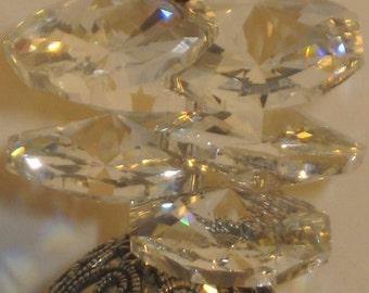 Swarovski Siam Crystal Suncatcher,prism sun catcher,crystal suncatcher,hanging suncatcher,suncatcher,prism catcher,rainbow catcher