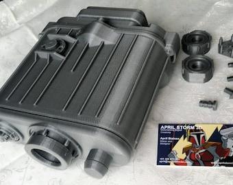 Hoth Macro Binoculars Electrobinoculars Prop from Empire Strikes Back. DIY Kit without electronics.