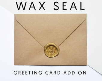 Greeting Card Add On - Wax Seal