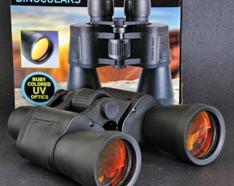 Sharper Image 7 x 50 Binoculars Fully Coated Optics In Original Box Like New NiCE !