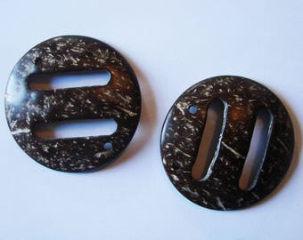 Real coconut - European belts loops set