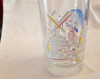 Disney 25th Anniversary collectible glass