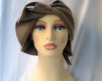 NEW! Cloche hat, 20s hat, 20s style hat, Felt hat, Wool hat, Vintage hat, Retro hat, Winter hat, By size hat, handmade hat