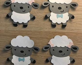 Baby Lamb Cupcake Toppers