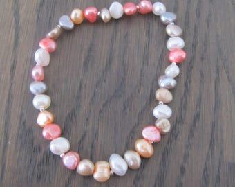 Elastic bracelet Freshwater Pearl