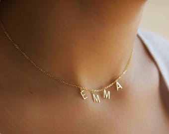 Name Choker | Personalized Choker | Choker Necklace | Custom Name Choker | Name Necklace | Personalized Gift | Bridesmaids Gift | Gift Ideas