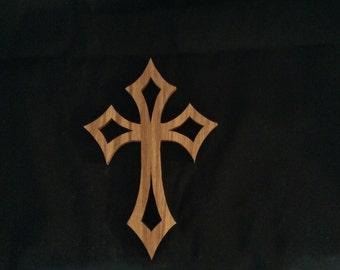 Cross, Wooden cross, oak cross, handmade cross, cross