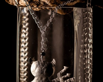 Aluminum IMP Necklace