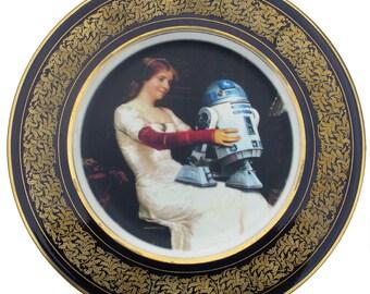 """R2-D2 Renaissance Porträt Platte 11,25"""""""