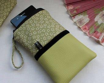 size custom Phone case - smartphone case - phone sleeve - Green