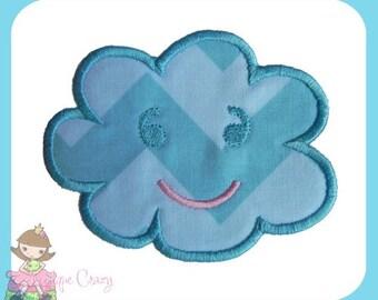 Happy Cloud Applique design