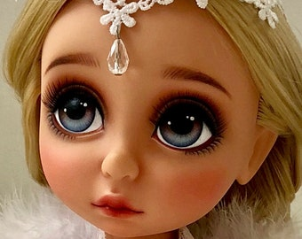 OOAK Disney animator doll Rapunzel repaint Custom dolls including accessories and clothes
