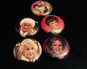 "Golden Girls 1"" Button Set"
