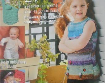 """""""Ideas baby stitch"""" magazine for sunny days"""