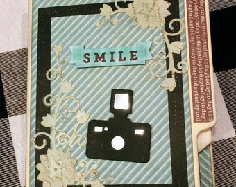 File Folder Journal With Tags