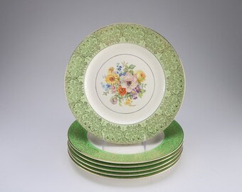 Edwin K. Knowles semi vitreous dinner plate