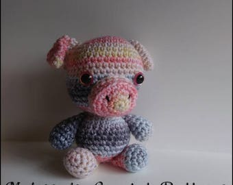 Crochet Pattern ~ Hamilton the Huggable Pig