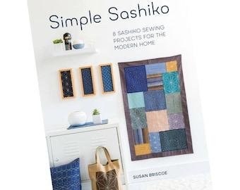 Simple Sashiko Book by Susan Briscoe | Sashiko Embroidery Projects