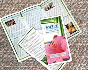 Custom Brochure Graphic Design Services Illustrator InDesign Flyer Catalog Collateral Literature Layout Help Changes Edits Updates Editing