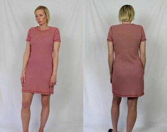 Vintage 90's Cotton Striped Dress