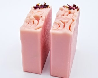 Vegan Cold Process Soap Bar - Simply Rose Natural Fragrance