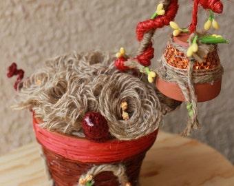 Flowerpot (Handmade Decoration)