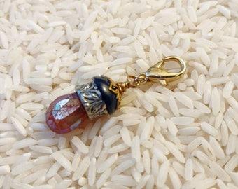 Carnelian Drop Pendant, jewelry add on.