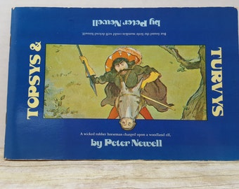 Topsys and Turvys, 1964, Peter Newell, vintage kids book