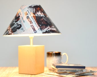 Light  up your life with this music lover's lamp