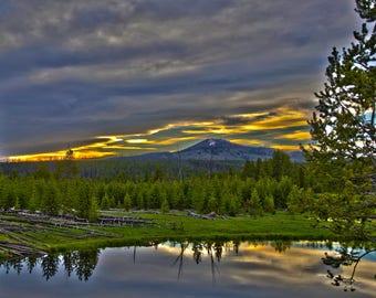 Yellowstone National Park 8x10 photo (matted)