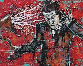 Tom Waits -Real Gone - 24 x 18 High Quality Art Poster
