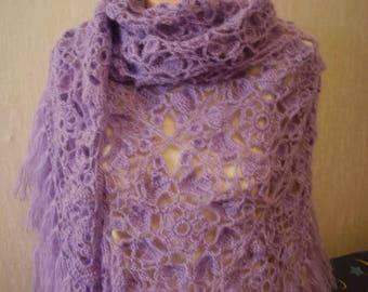 crochet shawl, lace shawl, knit shawl, festival shawl, triangular shawl, crochet wrap, knit wrap, knit cowl, cover up, ready to ship