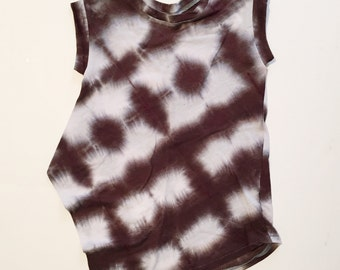 hand dyed tunic