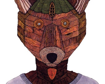 A Fox Was Built LIMITED EDITION PRINT of 50 by Duane Hosein