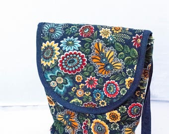 Barrel Bag, Floral