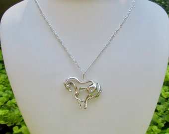 Sterling Silver 3D Horse Charm
