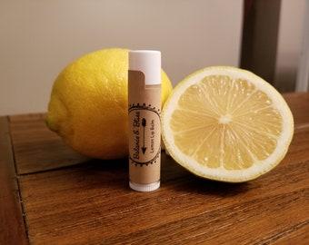 All Natural Lemon Lip Balm