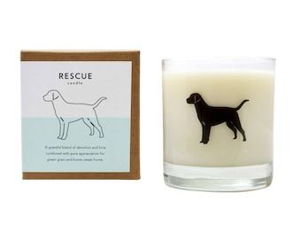 Rescue Dog Soy Candle Soy Candle Hostess Gift Rescue Candle Rescue Dog Rescue Dog Candle Dog Gift The Original Scripted Fragrance Candle