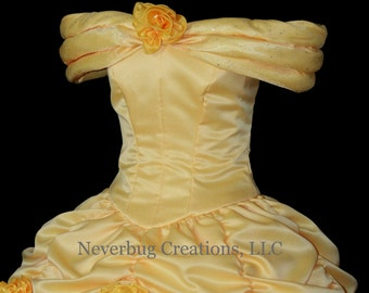 Beauty and the Beast Belle Parade Gown Custom Costume