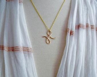 Pisces Zodiac Necklace, Zodiac Necklace, Gold Zodiac Necklace, Zodiac Jewelry