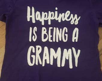 Happiness Is Being A Grammy womens tee shirt