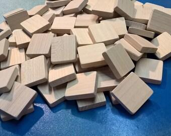 Blank Scrabble Tiles (lot of 120) Unmarked