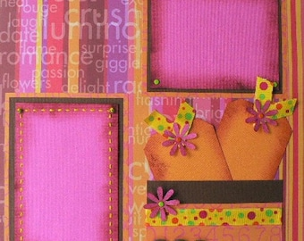 Best Friends Forever 12 x 12 Scrapbook Layout Pattern